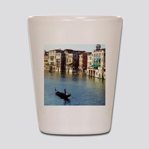Venice Souvenir Gondola Ride on Grand C Shot Glass