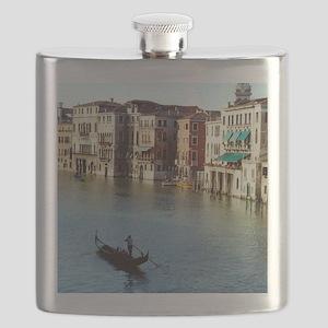 Venice Souvenir Gondola Ride on Grand Canal Flask