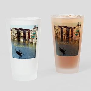 Venice Italy Souvenir Gondola Ride  Drinking Glass