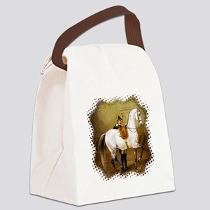 Andalusian Horse Canvas Lunch Bag