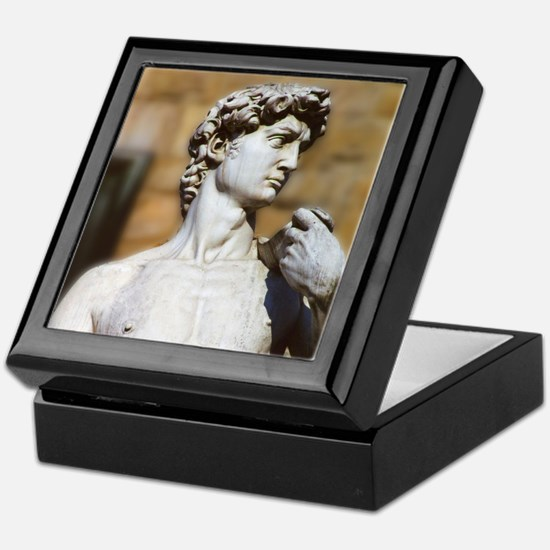 Famous David Statue in Florence Italy Keepsake Box