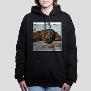 irishsettertile Hooded Sweatshirt