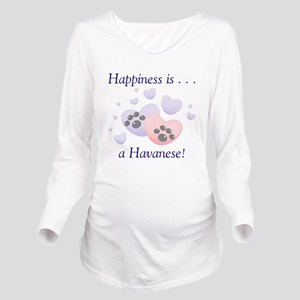 happinesshavanese Long Sleeve Maternity T-Shir