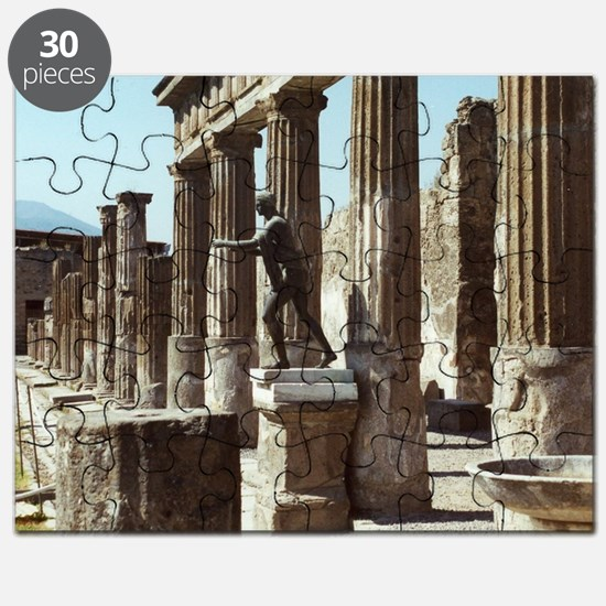 Apollo Statue Pompeii Italy Souvenir Puzzle