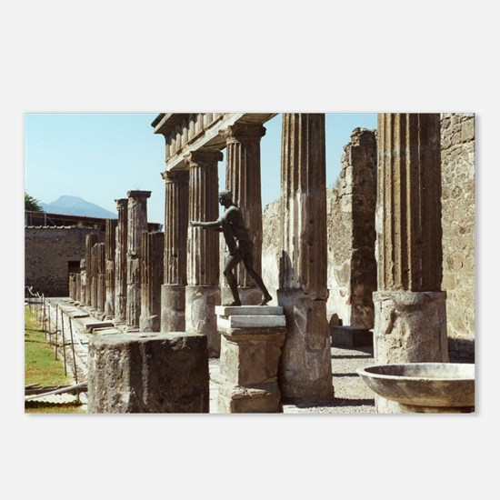 Apollo Statue Pompeii Ita Postcards (Package of 8)