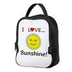 I Love Sunshine Neoprene Lunch Bag