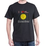 I Love Sunshine Dark T-Shirt