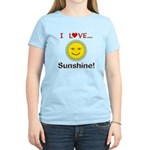 I Love Sunshine Women's Light T-Shirt