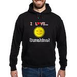 I Love Sunshine Hoodie (dark)