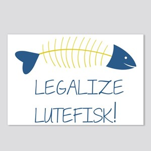 LEGALIZE LUTEFISK! Postcards (Package of 8)