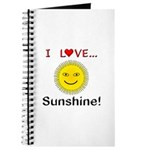 I Love Sunshine Journal
