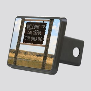 Welcome to Colorful Colora Rectangular Hitch Cover