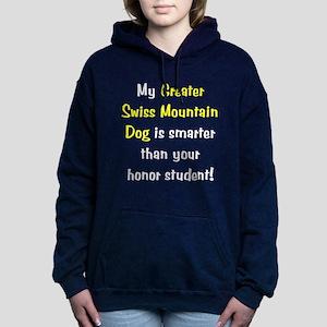 greaterswiss-smarter10 Hooded Sweatshirt