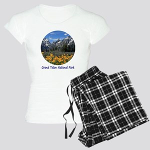 Grand Tetons National Park  Women's Light Pajamas