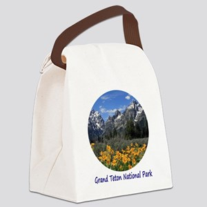 Grand Tetons National Park in Spr Canvas Lunch Bag