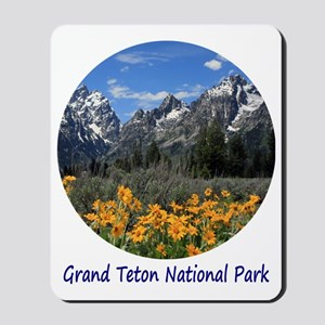 Grand Tetons National Park in Springtime Mousepad
