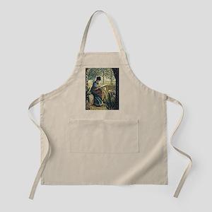 Monet: Madame Monet Embroidering, famous Mon Apron