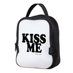 kiss me Neoprene Lunch Bag