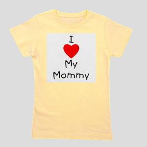 I love my mommy Girl's Tee