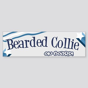 Bearded Collie Bumper Sticker Bumper Sticker