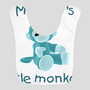 mommymonkeyteal Bib
