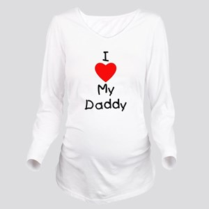 lovemydaddy Long Sleeve Maternity T-Shirt