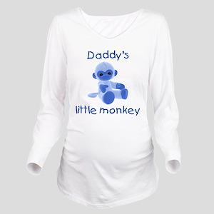 daddysmonkeyblue Long Sleeve Maternity T-Shirt