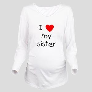 lovemysister Long Sleeve Maternity T-Shirt