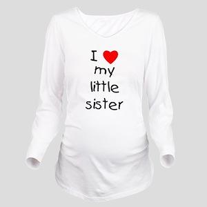 lovemylittlesister Long Sleeve Maternity T-Shi