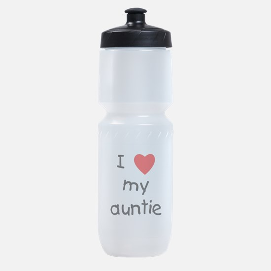 I Love My Auntie Sports Bottle
