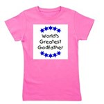 greatestgodfatherblue Girl's Tee