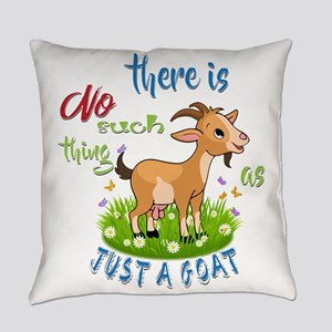 No Such Thing as Just a Goat GetYe Everyday Pillow