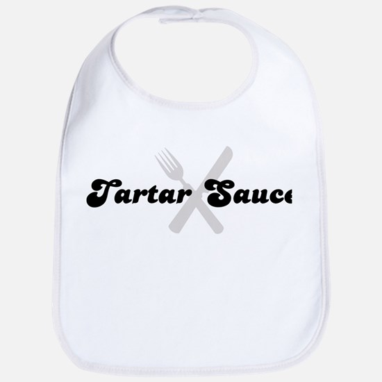 Tartar Sauce (fork and knife) Bib