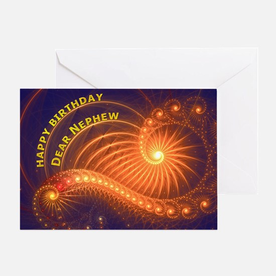 Birthday card for a nephew Greeting Cards