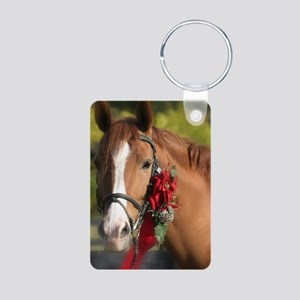 Christmas Horse Keychains