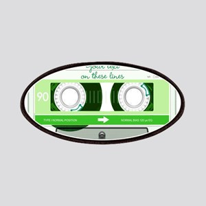 Cassette Tape - Green Patches