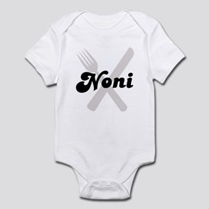 Noni (fork and knife) Infant Bodysuit