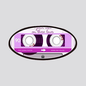 Cassette Tape - Pink Patches