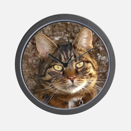 Cat002 Wall Clock