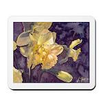 Moonlight Daffodils Mousepad