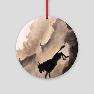 Leap of Faith Ornament (Round)