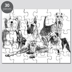 Dogs, ALL kinds! Puzzle