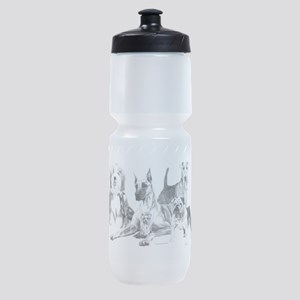Dogs, ALL kinds! Sports Bottle