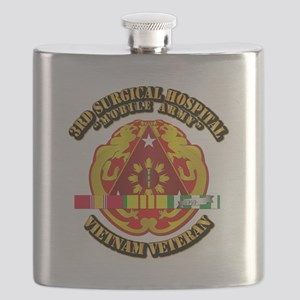 3rd Surgical Hospital w SVC Ribbon Flask