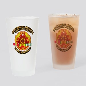 3rd Surgical Hospital w SVC Ribbon Drinking Glass
