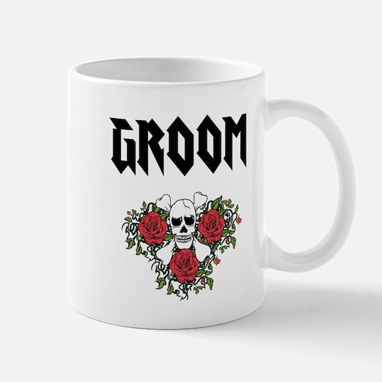 Groom Skull Mugs
