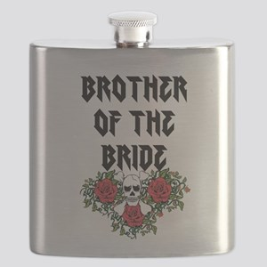 Brother of the Bride Skull Flask