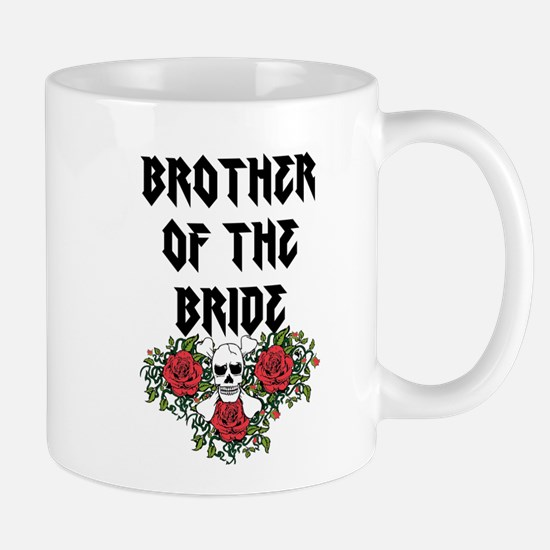 Brother of the Bride Skull Mugs