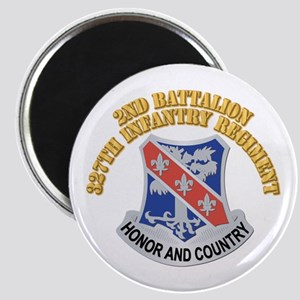 DUI - 2nd Bn - 327th Infantry Regiment With Text M