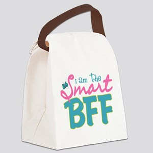 I am the Smart BFF Canvas Lunch Bag